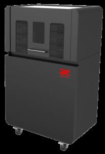 Station de dépoudrage XYZprinting EeezClean 230 pour imprimante 3D à frittage