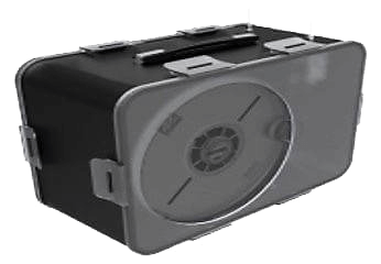 Chargeur de fil double capacité pour une impression 3D en continue