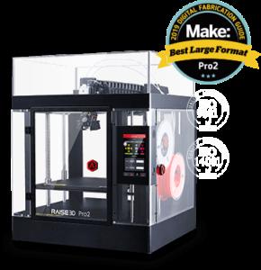 imprimante raise 3D Pro 2